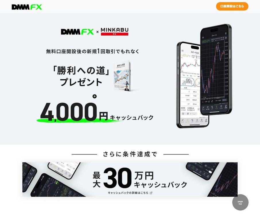 DMMFXのイメージ